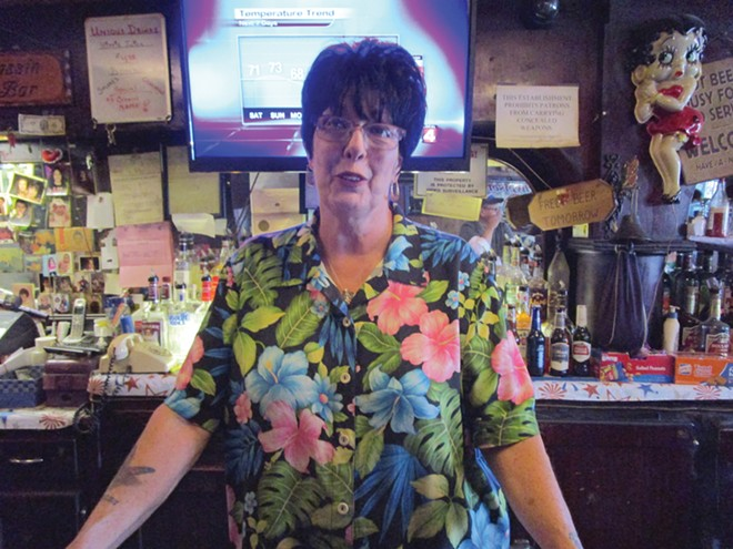 "Cas Bar owner Beverly ""Mama Jo"" Sassin. - FILE PHOTO"