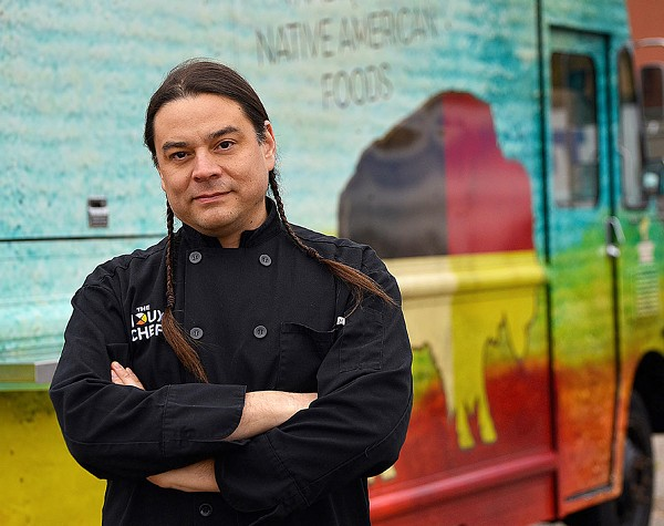 Critically acclaimed author and Siouxchef Sean Sherman. - PHOTO COURTESY OF FOOD LITERACY FOR ALL