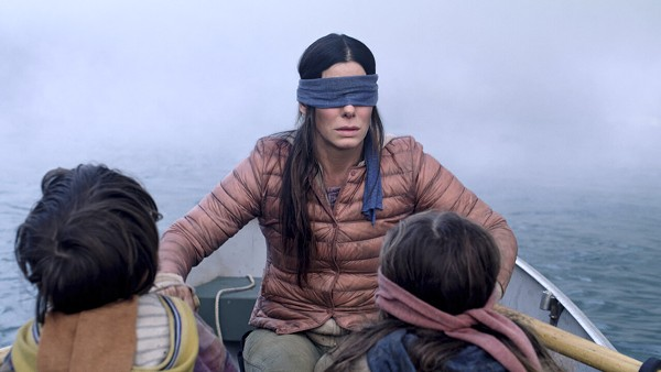 Sandra Bullock in Bird Box. - SCREENGRAB