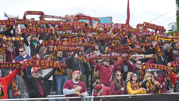 Will Detroit City FC smoke the Green? - PHOTO BY ANDREW ERDMANS