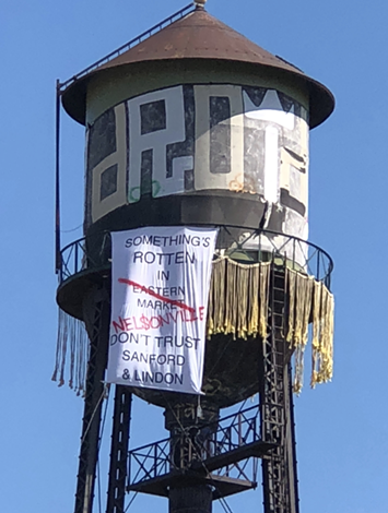 A water tower in the Eastern Market. - COURTESY PHOTO