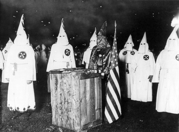KKK night rally in Chicago. - LIBRARY OF CONGRESS