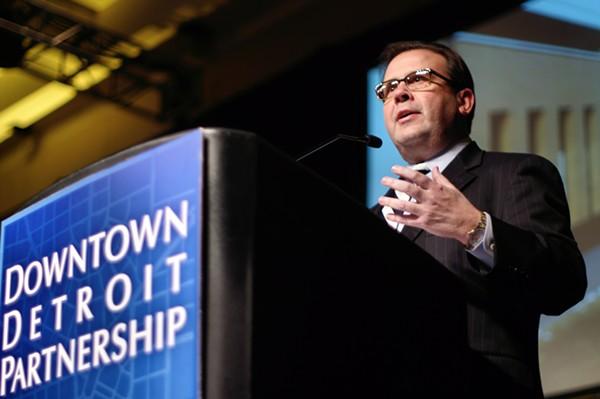 Blue Cross Blue Shield CEO Daniel Loepp in 2012. - A HEALTHIER MICHIGAN