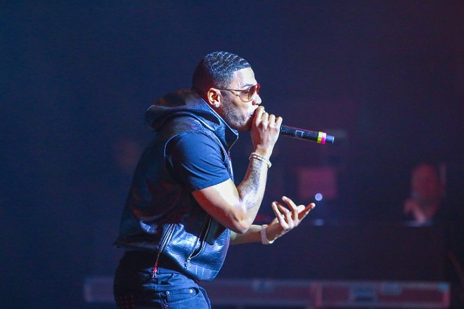 Nelly performing at Sound Board in 2018. - JOSH JUSTICE