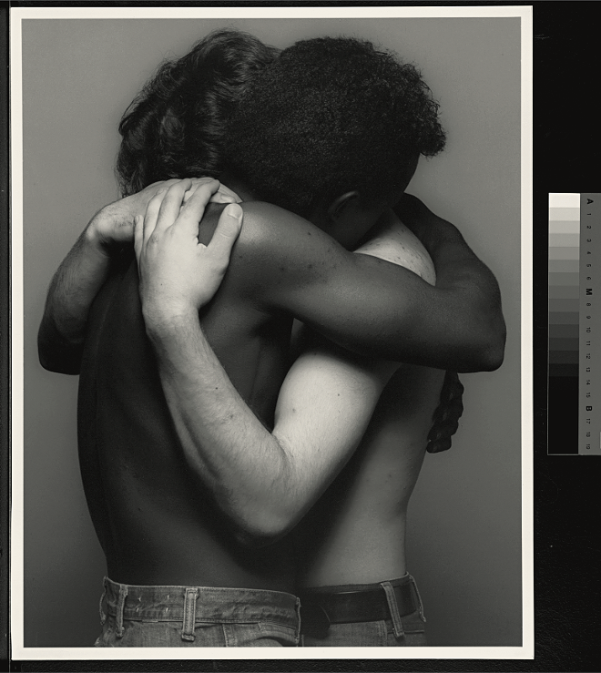 EMBRACE, 1982 (C) ROBERT MAPPLETHORPE FOUNDATION. USED WITH PERMISSION