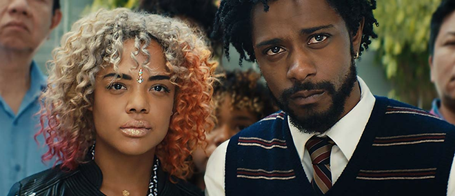 Tessa Thompson as Detroit, LaKeith Stanfield as Cash - ANNAPURNA PICTURES