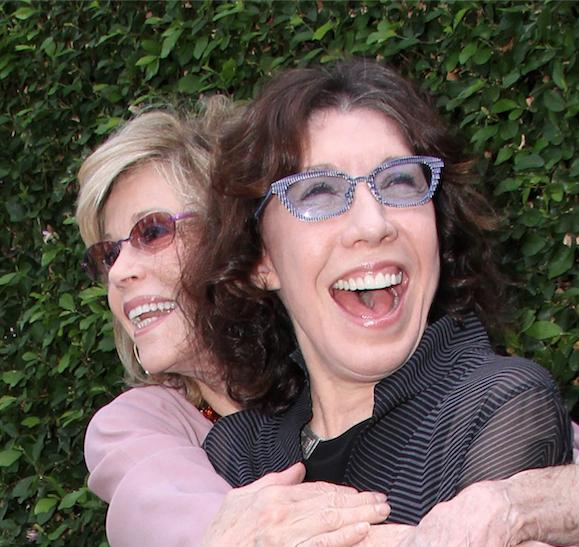 Besties Jane Fonda and Lily Tomlin. - KATHY HUTCHINS / SHUTTERSTOCK.COM