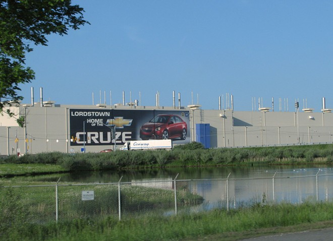 General Motors' Lordstown Assembly Plant. - DANIEL J. MACY / SHUTTERSTOCK.COM