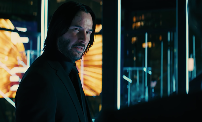 Keanu Reeves in John Wick: Chapter 3 — Parabellum. - SCREENGRAB / YOUTUBE