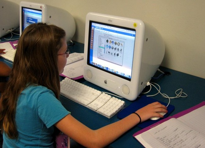 Nationwide, almost 300,000 students grades K through 12 attend school entirely online. - JDURHAM / MORGUEFILE