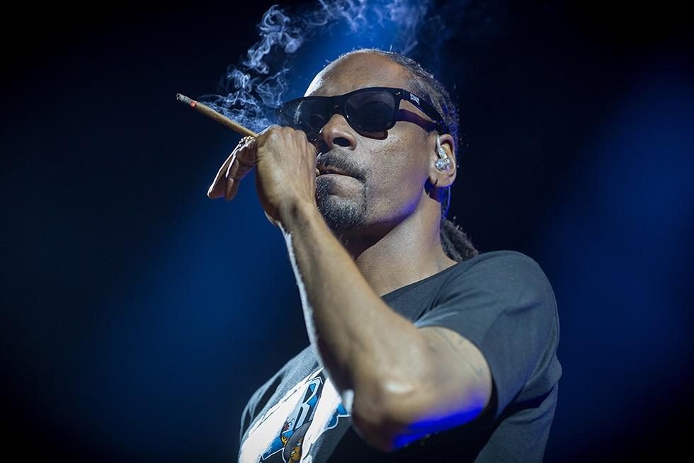 Snoop Dogg, The Aretha Franklin Amphitheatre, July 5. - STERLING MUNKSGARD/SHUTTERSTOCK.COM