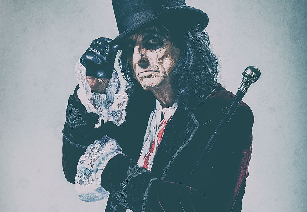 Alice Cooper, DTE Energy Music Theatre, July 20. - ROB FENN