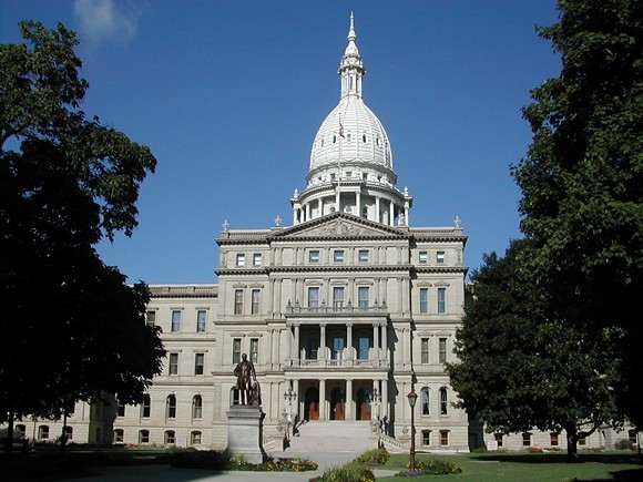 Michigan State Capitol. - WIKIMEDIA CREATIVE COMMONS