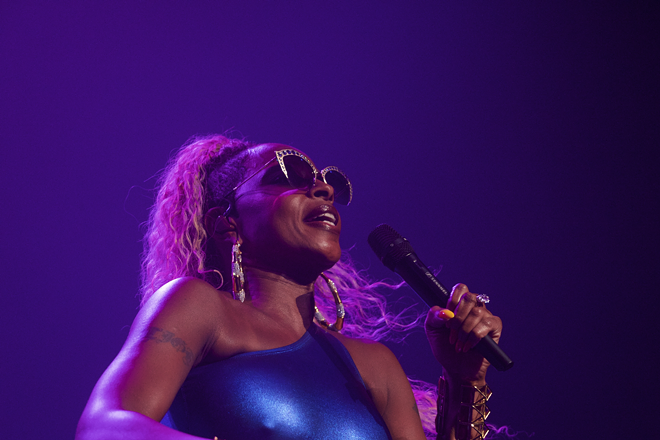Mary J. Blige. - GREGORY REED
