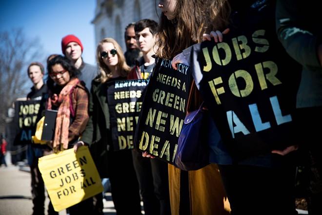 Progressives at a recent rally in Washington D.C. - RACHEL WARRINER/SHUTTERSTOCK