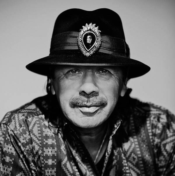 Carlos Santana. - RUBEN MARTIN