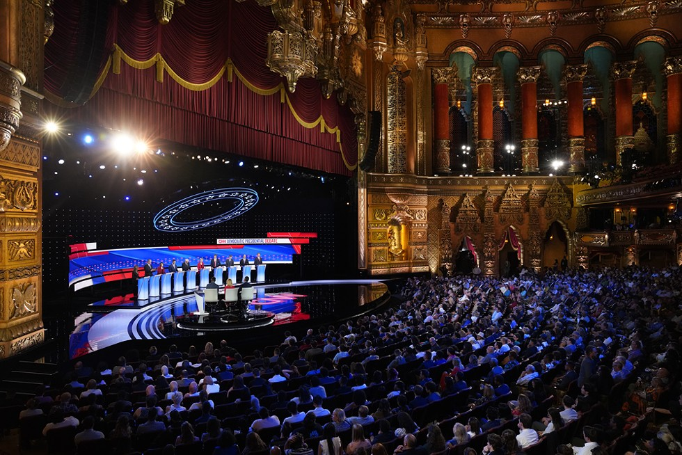 In many ways, Detroit's theater and sports district was the perfect venue for CNN's debate. - CNN