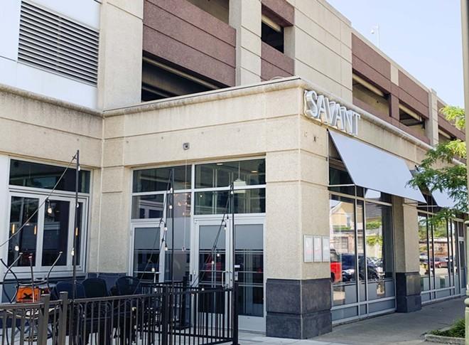 Savant's Cass Corridor restaurant. - TOM PERKINS