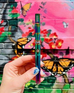 Ooze's stylish vape pens have become ubiquitous. - COURTESY OF OOZE