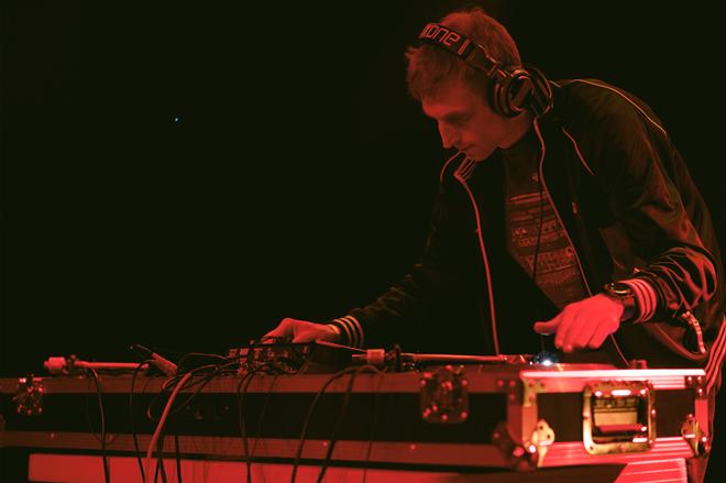 Local DJ Evan Glicker, aka Satta Don Dada. - TOMAS LAVERTY