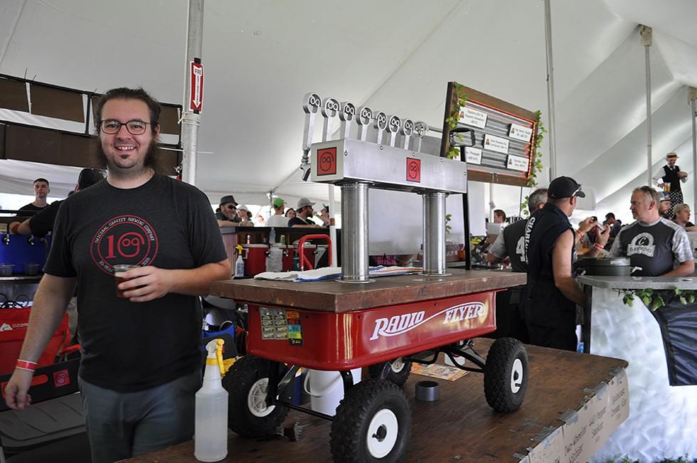 Michigan Brewers Guild's Summer Beer Festival. - JENNIFER LYONS