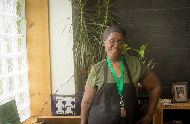 "Harriette Brown, aka ""Chef Bee."" - SKYLER MURRY"