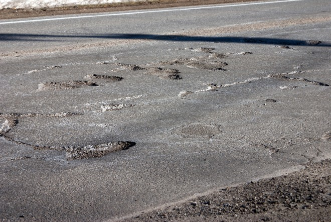 Michigan's damn roads still need to be fixed. - SHUTTERSTOCK