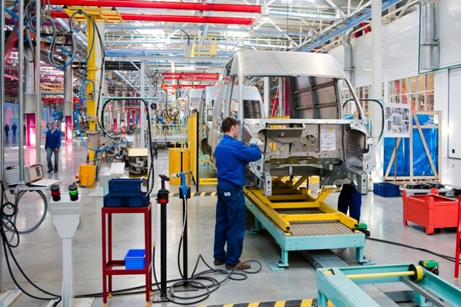 About 46,000 Michigan workers are employed at Ford auto manufacturing plants in the state. - ADOBE STOCK
