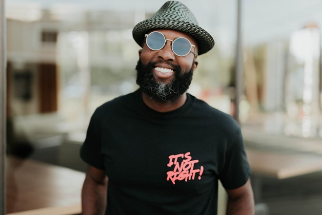 "Founders Brewing management is claiming it didn't know former employee Tracy Evans, pictured here, was Black. Evans alleges ""a racist internal corporate culture"" at the company. - LEIGH ANN COBB"