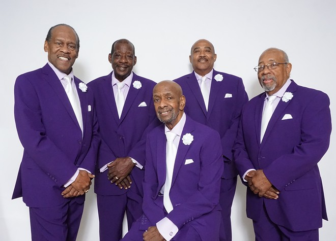The Contours. - COURTESY OF MOTOWN LEGENDS MANAGEMENT