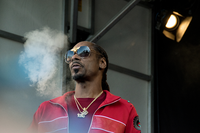 Snoop Dogg. - AGWILSON / SHUTTERSTOCK.COM