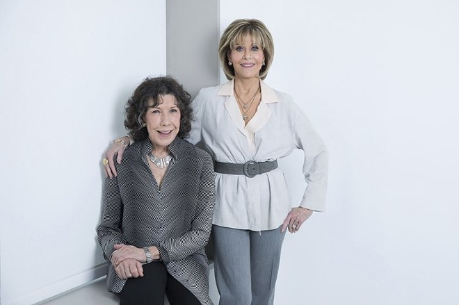 #BFFGoals Lily Tomlin and Jane Fonda. - COURTESY OF 313PRESENTS