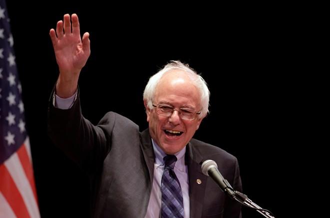 Presidential candidate Sen. Bernie Sanders. - SHUTTERSTOCK