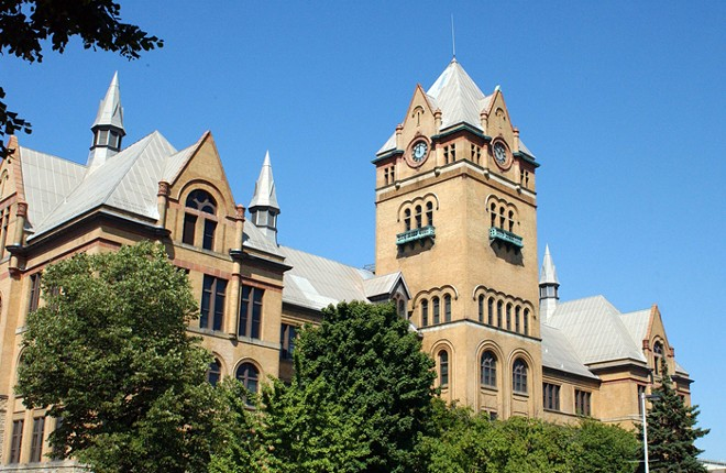 Old Main at Wayne State University. - WAYNE STATE UNIVERSITY