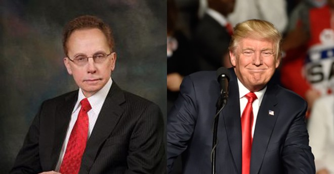 Warren Mayor Jim Fouts has a mouth as filthy as President Donald Trump's. - CITY OF WARREN, EVAN EL-AMIN/SHUTTERSTOCK.COM
