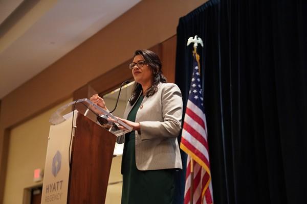 Rep. Rashida Tlaib. - PHIL PASQUINI / SHUTTERSTOCK.COM