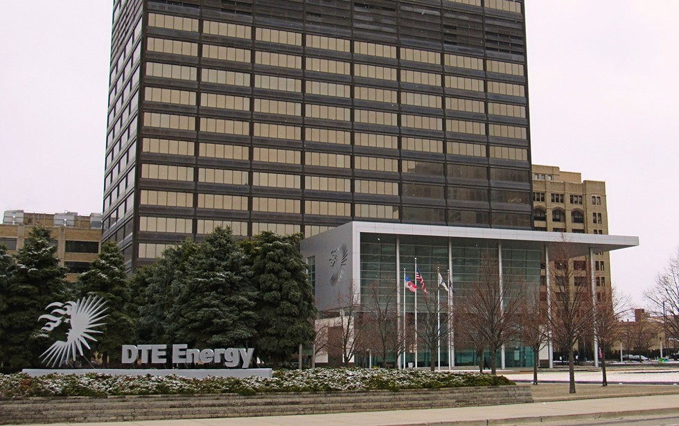 DTE Energy's downtown Detroit headquarters. - TOM PERKINS