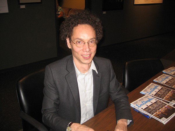 Malcolm Gladwell. - BUNNICULA, FLICKR CREATIVE COMMONS