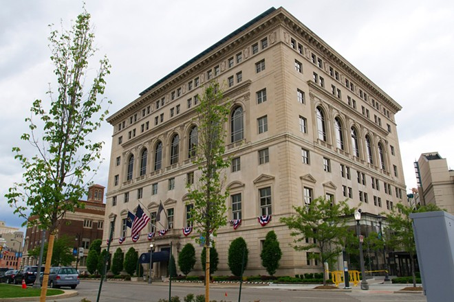 Detroit Athletic Club in downtown Detroit. - STEVE NEAVLING