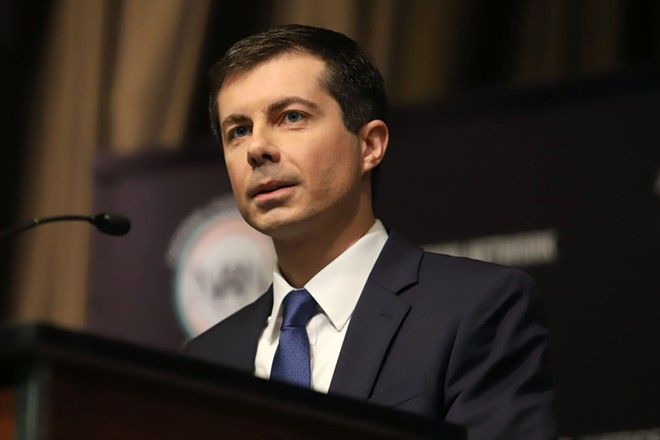 South Bend, Indiana, Mayor Pete Buttigieg. - JSTONE / SHUTTERSTOCK.COM