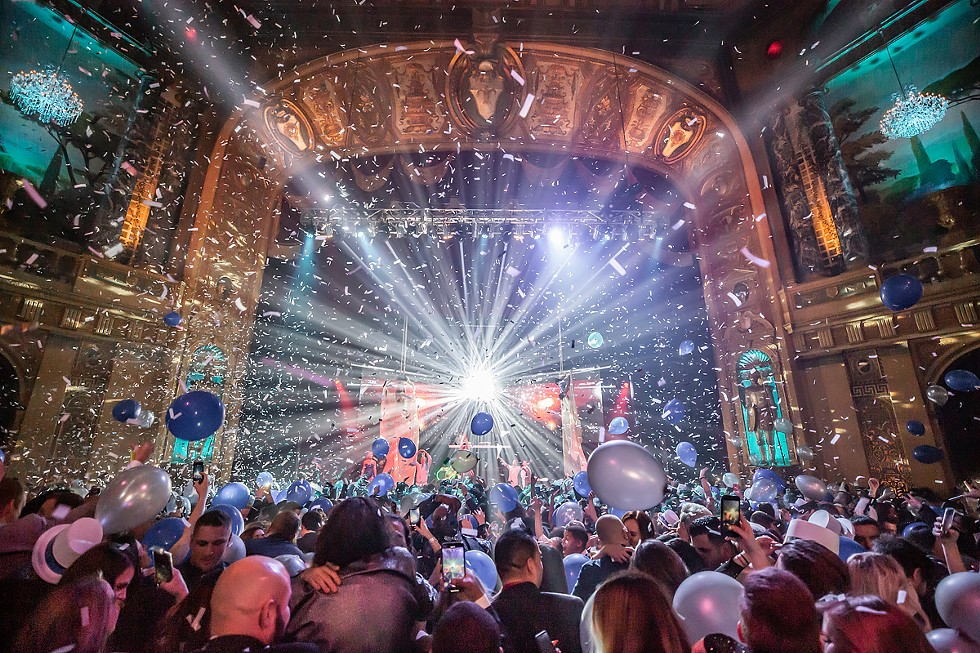 The Resolution Ball returns to the Fillmore. - MARC NADER