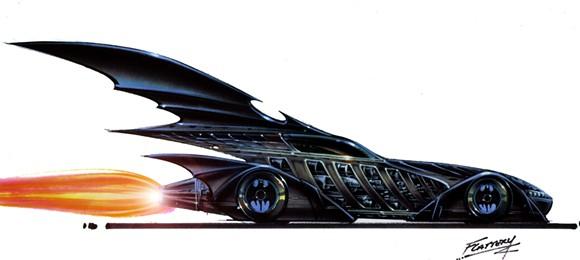 The Batmobile from Batman Forever. - COURTESY PHOTO