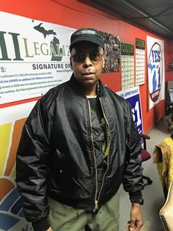 Joe White, director of Detroit NORML. - LARRY GABRIEL