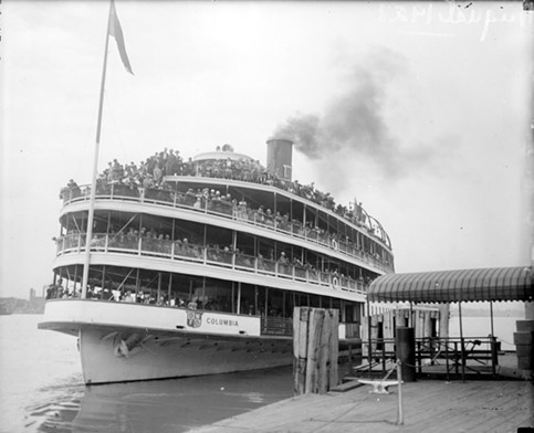 S.S. COLUMBIA, CIRCA 1920 (COURTESY OF VIRTUAL MOTOR CITY)