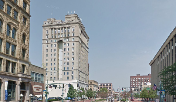 You'd think a guy from Detroit would be safer in Ohio. - SCAN FROM GOOGLE STREET VIEW