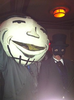 Orby surfaced at the 2011 Theatre Bizarre. - COURTESY OF ROB ST. MARY