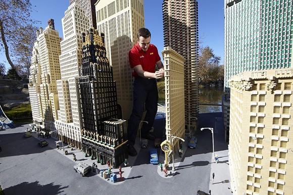 Miniland USA at Legoland California Resort. - COURTESY PHOTO