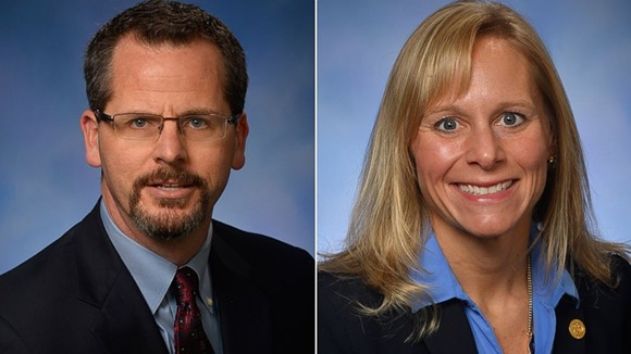 Todd Courser and Cindy Gamrat.