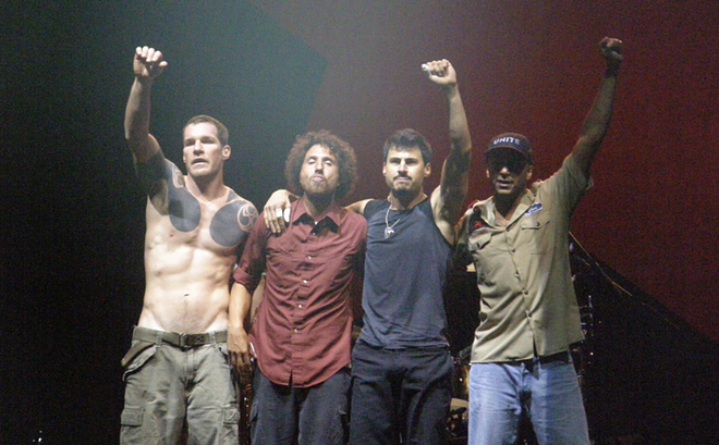 Rage Against the Machine in 2007. - SCOTT PENNER, FLICKR CREATIVE COMMONS
