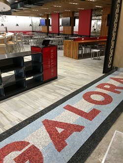 The entrance of the newest Bigalora outlet in McNamera Terminal Dec. 11. - COURTESY OF CHEF LUCIANO DELSIGNORE